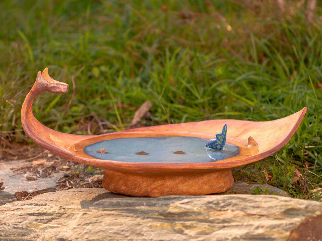 Dragon Bird Bath